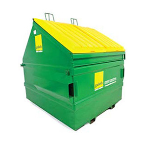 Front end loader bin