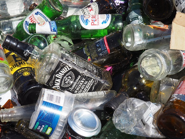 waste glass collection service