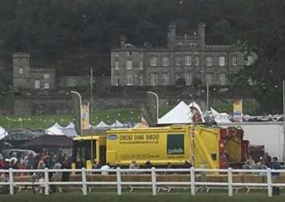 gaskell commercial waste trucks at carfest
