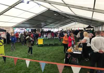gaskell commercial services contracted for the shropshire festivals