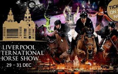 Liverpool International Horse Show Hat-trick!