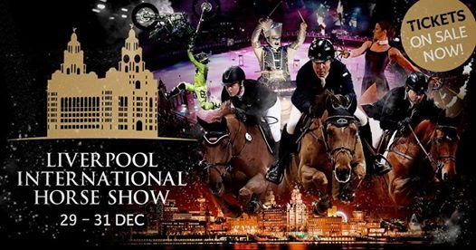 Liverpool International Horse Show Hat-trick!