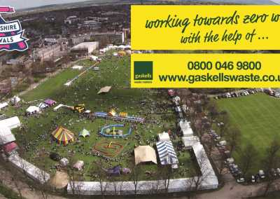 shropshire festivals contracted gaskells commercial services