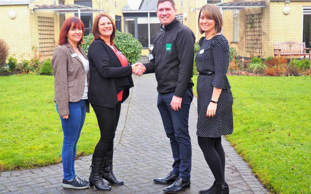 Gaskells give a helping hand to Wigan and Leigh Hospice