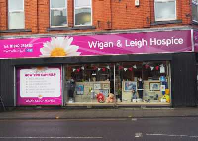 gaskell waste services working with wigan and leigh hospices