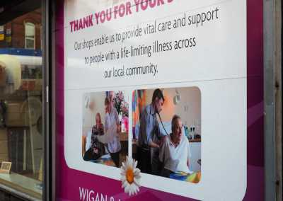 wigan and leigh hospice working with gaskell waste services
