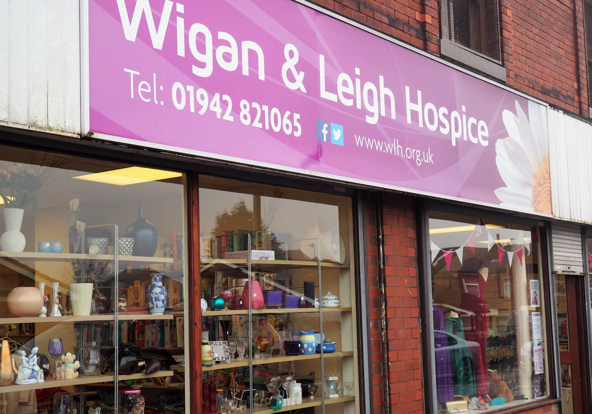 gaskells give a helping hand to wigan and leigh hospice. Black Bedroom Furniture Sets. Home Design Ideas