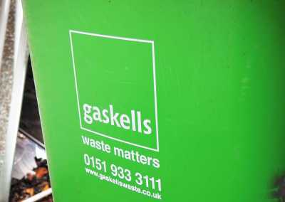gaskell waste service bins for wigan and leigh hospice