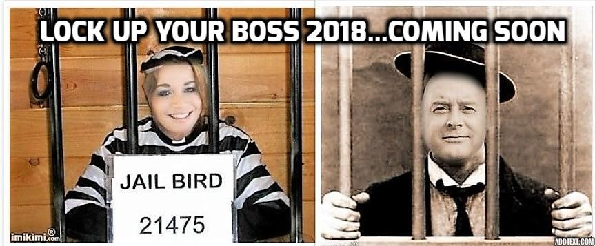 Gaskells bosses being locked up for Charity