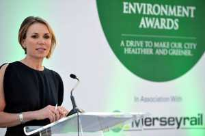 gaskells attended the echo environment awards
