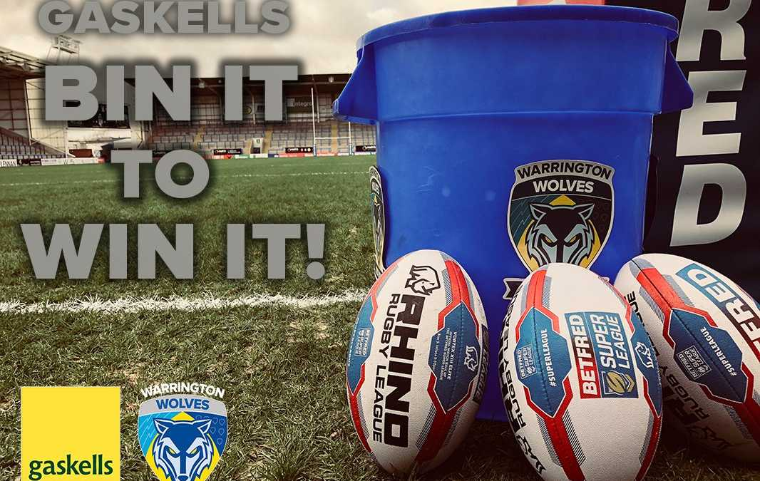 Gaskells partnership with Warrington Wolves steps up a gear