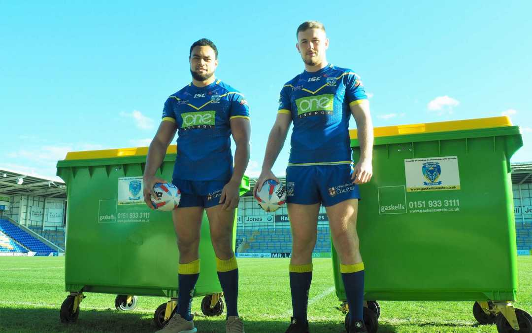 Gaskells sign up to Superleague with Warrington Wolves