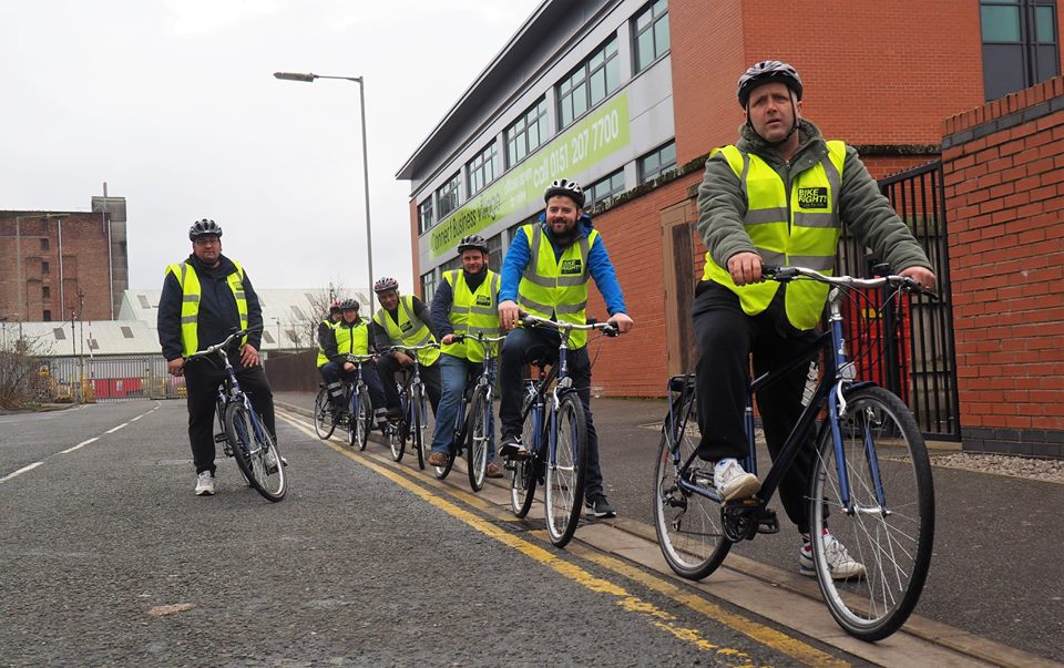 Gaskells drivers getting cyclist's eye view