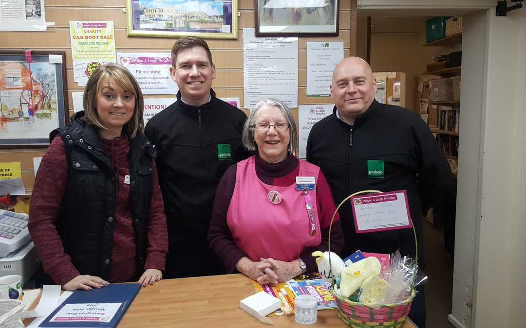 Swapping Sales for Charity for Wigan and Leigh Hospice