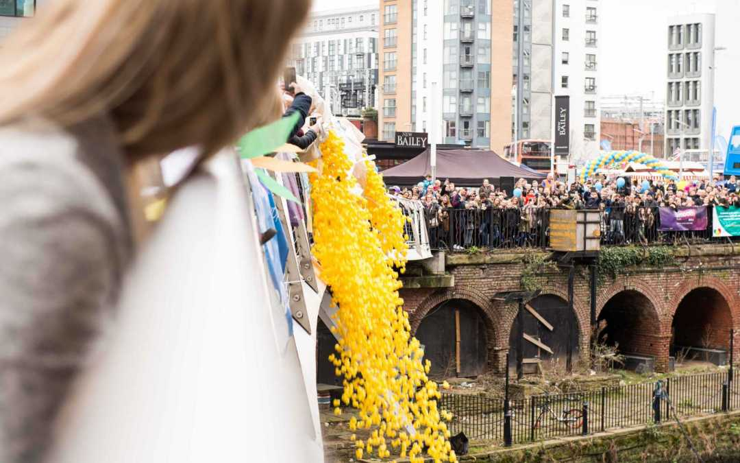 We help Manchester Duck Race with a 'quacking' way to Recycle