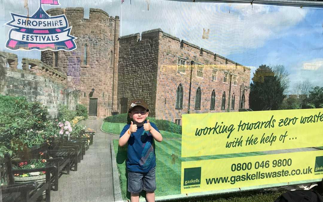 Gaskells out and about with Shropshire Festivals