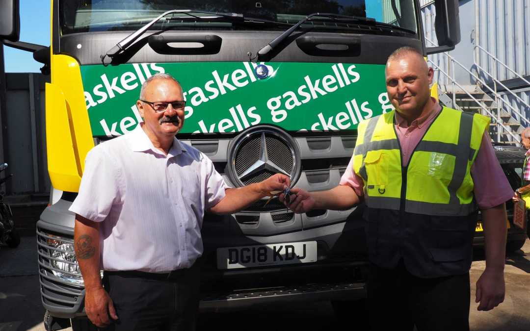 Cutting edge safety technologies as Gaskells expands fleet