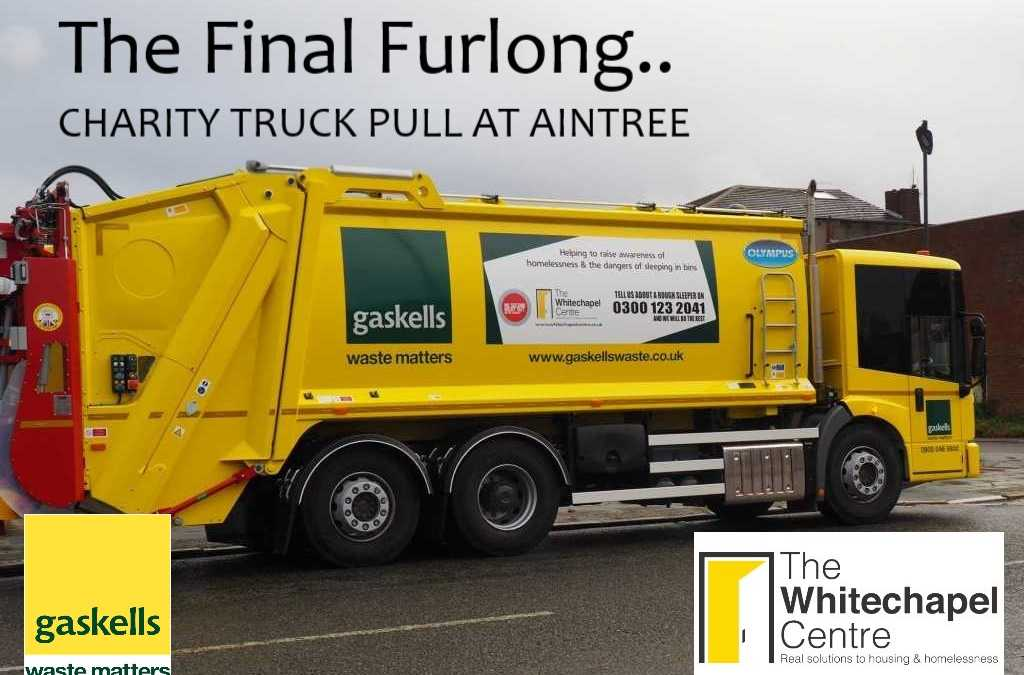 Charity Truck Pull for The Whitechapel Centre