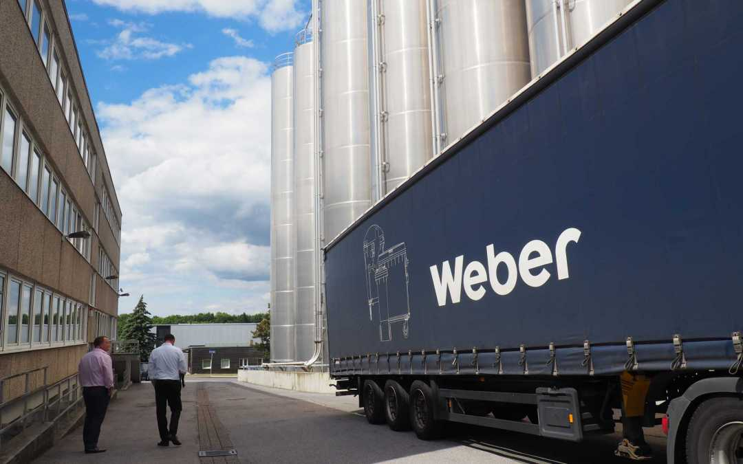 Gaskells working with Weber.. wheelie bins from start to finish.