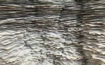 Should I shred office paper for recycling?