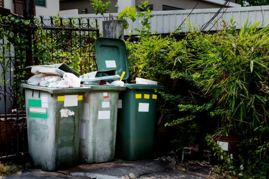 What happens if my bins are too full?