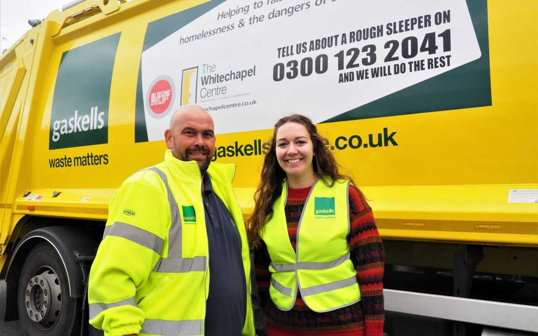 """With this number you could save a life"" Gaskells launches Winter homelessness campaign."