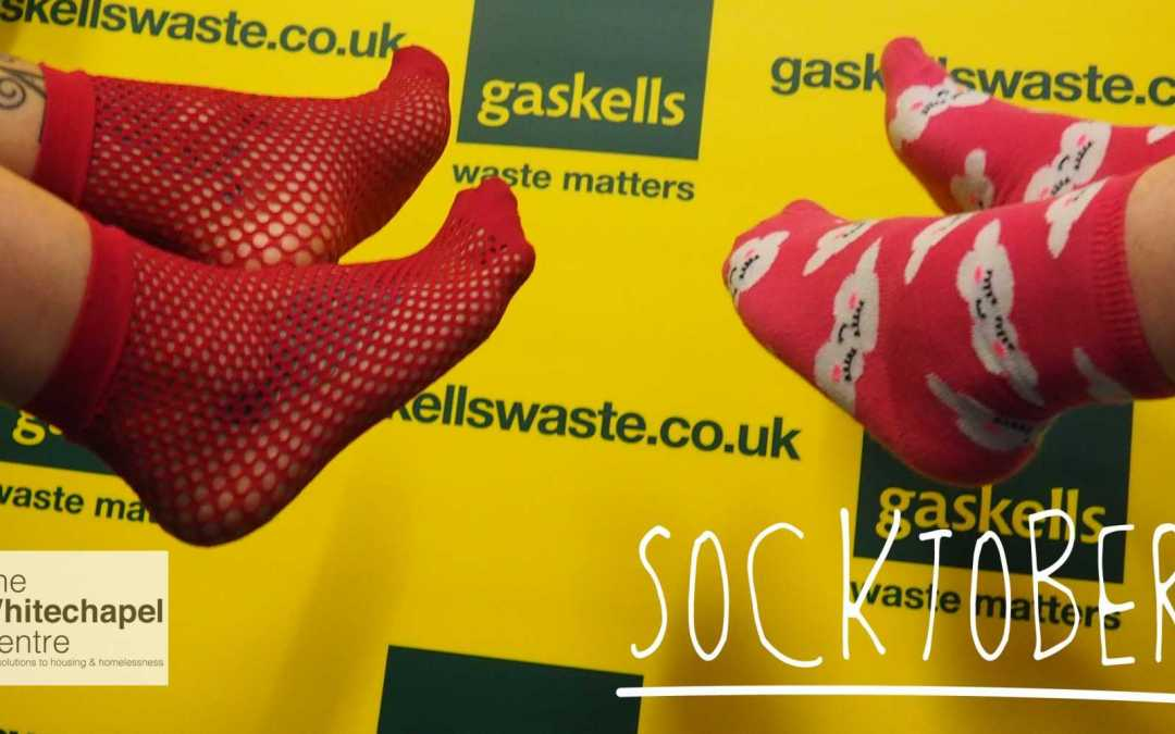 Socking it to them for Liverpool Homelessness Charity